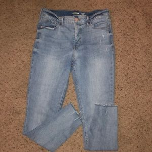 Rockstar Ankle Jeans with Slimming Pockets